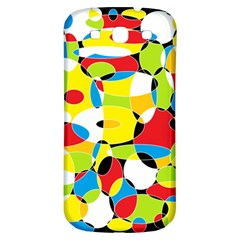 Interlocking Circles Samsung Galaxy S3 S III Classic Hardshell Back Case