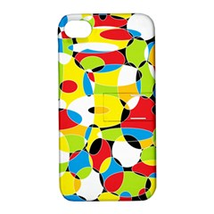 Interlocking Circles Apple iPhone 4/4S Hardshell Case with Stand