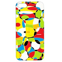 Interlocking Circles Apple iPhone 5 Hardshell Case with Stand