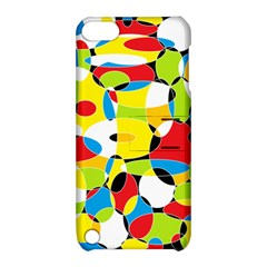 Interlocking Circles Apple iPod Touch 5 Hardshell Case with Stand