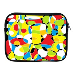 Interlocking Circles Apple iPad Zippered Sleeve
