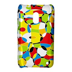 Interlocking Circles Nokia Lumia 620 Hardshell Case