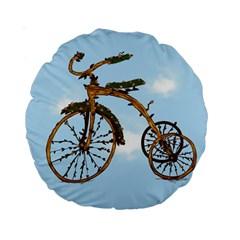Treecycle 15  Premium Round Cushion