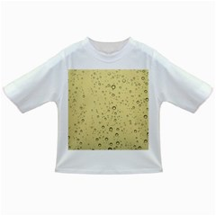 Yellow Water Droplets Baby T Shirt