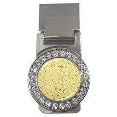 Yellow Water Droplets Money Clip (CZ)