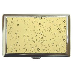 Yellow Water Droplets Cigarette Money Case