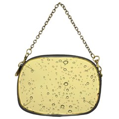 Yellow Water Droplets Chain Purse (One Side)