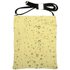 Yellow Water Droplets Shoulder Sling Bag