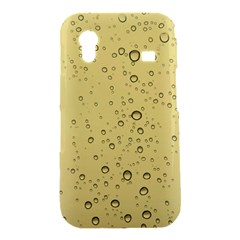 Yellow Water Droplets Samsung Galaxy Ace S5830 Hardshell Case