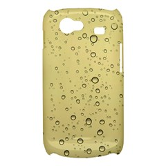 Yellow Water Droplets Samsung Galaxy Nexus S i9020 Hardshell Case