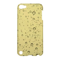 Yellow Water Droplets Apple Ipod Touch 5 Hardshell Case