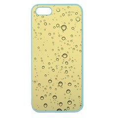 Yellow Water Droplets Apple Seamless iPhone 5 Case (Color)