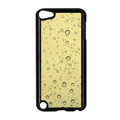 Yellow Water Droplets Apple Ipod Touch 5 Case (black)