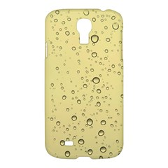 Yellow Water Droplets Samsung Galaxy S4 I9500/I9505 Hardshell Case