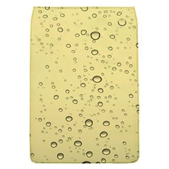 Yellow Water Droplets Removable Flap Cover (small)