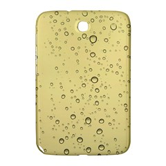 Yellow Water Droplets Samsung Galaxy Note 8.0 N5100 Hardshell Case