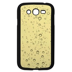 Yellow Water Droplets Samsung Galaxy Grand DUOS I9082 Case (Black)