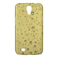 Yellow Water Droplets Samsung Galaxy Mega 6.3  I9200 Hardshell Case