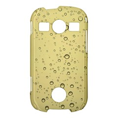 Yellow Water Droplets Samsung Galaxy S7710 Xcover 2 Hardshell Case