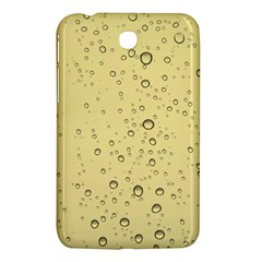 Yellow Water Droplets Samsung Galaxy Tab 3 (7 ) P3200 Hardshell Case