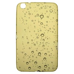 Yellow Water Droplets Samsung Galaxy Tab 3 (8 ) T3100 Hardshell Case