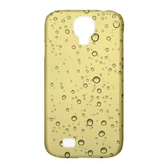 Yellow Water Droplets Samsung Galaxy S4 Classic Hardshell Case (PC+Silicone)