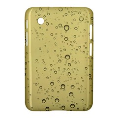 Yellow Water Droplets Samsung Galaxy Tab 2 (7 ) P3100 Hardshell Case