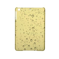 Yellow Water Droplets Apple iPad Mini 2 Hardshell Case