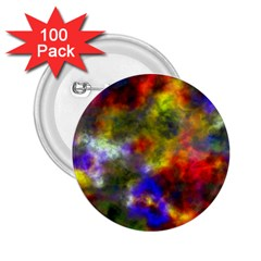 Deep Watercolors 2.25  Button (100 pack)