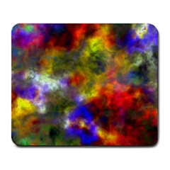 Deep Watercolors Large Mouse Pad (Rectangle)