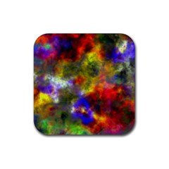 Deep Watercolors Drink Coasters 4 Pack (Square)