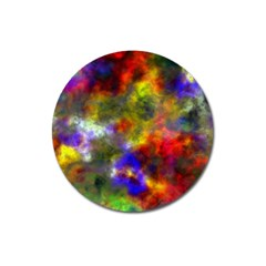 Deep Watercolors Magnet 3  (round)