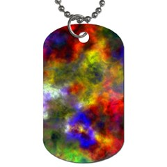 Deep Watercolors Dog Tag (Two-sided)