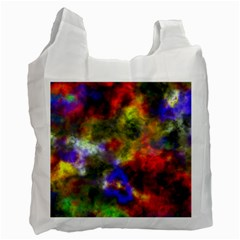 Deep Watercolors Recycle Bag (Two Sides)