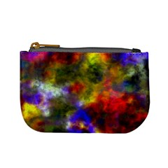 Deep Watercolors Coin Change Purse
