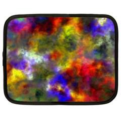 Deep Watercolors Netbook Sleeve (xxl)