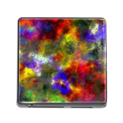 Deep Watercolors Memory Card Reader with Storage (Square)