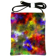 Deep Watercolors Shoulder Sling Bag