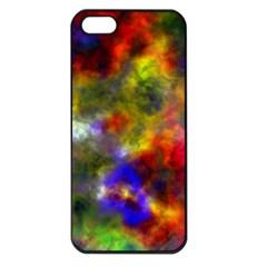 Deep Watercolors Apple iPhone 5 Seamless Case (Black)