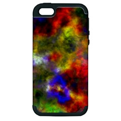 Deep Watercolors Apple iPhone 5 Hardshell Case (PC+Silicone)