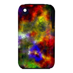 Deep Watercolors Apple iPhone 3G/3GS Hardshell Case (PC+Silicone)
