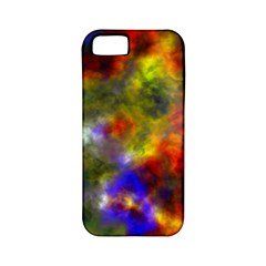 Deep Watercolors Apple Iphone 5 Classic Hardshell Case (pc+silicone)