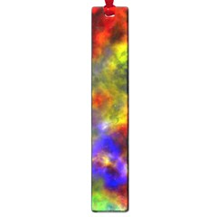 Deep Watercolors Large Bookmark