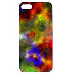 Deep Watercolors Apple Iphone 5 Hardshell Case With Stand