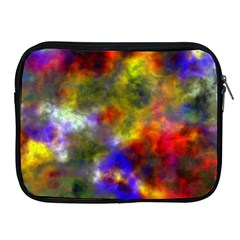 Deep Watercolors Apple Ipad Zippered Sleeve