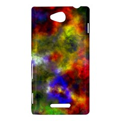 Deep Watercolors Sony Xperia C (S39h) Hardshell Case