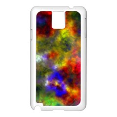 Deep Watercolors Samsung Galaxy Note 3 Case (White)