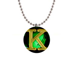 angel king  Button Necklace
