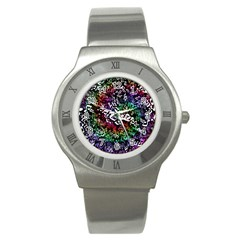 Urock Musicians Twisted Rainbow Notes  Stainless Steel Watch (Slim)