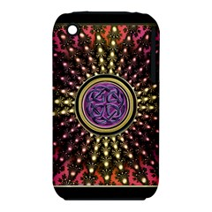 Urock Musicians Twisted Rainbow Notes  Apple iPhone 3G/3GS Hardshell Case (PC+Silicone)